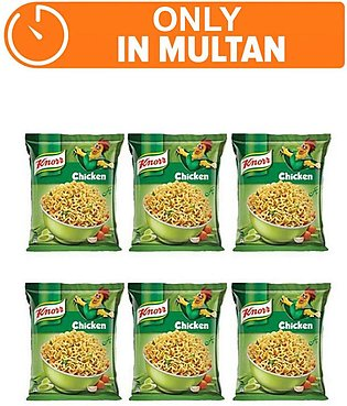 Knorr Noodles Chiken pack of 6 (One day delivery in Multan)