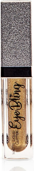 Matte Liquid Glitter Eyeshadow - Gold - 7ml