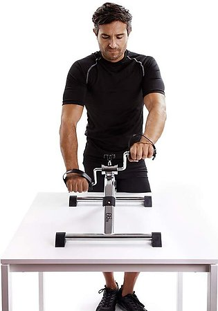 Pedal Exerciser Home Gym Fitness Exercise Heavy Duty Steel Safe and Easy