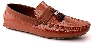 "Men ""COLBY"" Tassel Slip On Textured Moc Toe Casual Moccasin Loafer Shoes-GS6674"