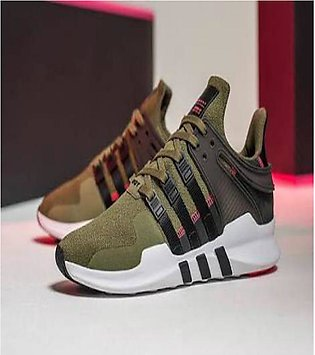 Green Stylish Sports Shoes For Women