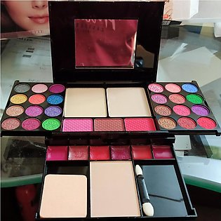 Complete make up kit full pro kit with blush eye shade lipstick and base