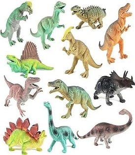 12 Pack Educational Dinosaur Toys