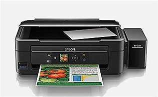 EPSON PRINTER L455 3 IN ONE INK TANK SYTEM(4 COLOR,PRINTER,SCAN,COPY,WI-FI,1.44…