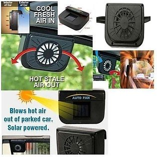 Auto Solar Powered Cool Fan for Vehicles