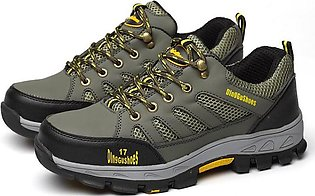Mens Safety Shoes Steel Toe Work Sneaker Breathable Hiking Climbing Shoes Combat