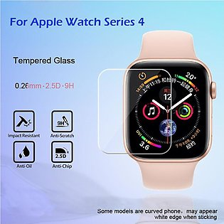 2PC HD Tempered Glass LCD Screen Protector Film For Apple Watch Series 4 44mm