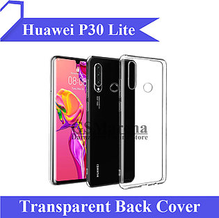 Huawei P30 Lite Back Cover Transparent Crystal Clear Case Cover For P30 Lite