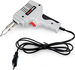 220V 100W Electrical Soldering Iron Gun Hot Air Heat Gun Hand Welding Tool -Gre…