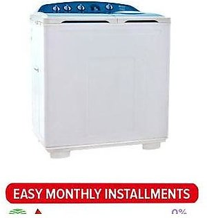Dawlance Semi Automatic Washing Machine DW8500 HZP (White)