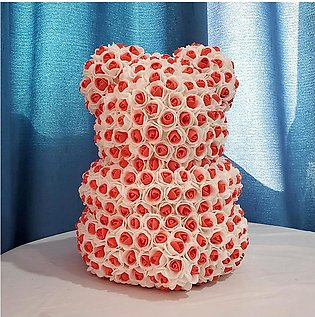 Big Bear of Roses Colors Artificial Flowers Home Wedding Festival DIY Cheap W...