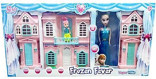 Beautiful Frozen Doll House for Girls