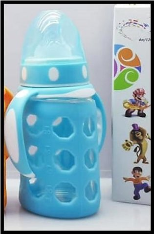 Baby Feeder Bottle With  Glass Inside