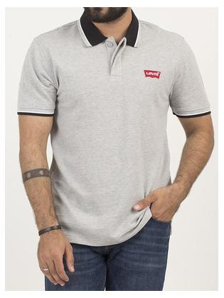 Levi's Short Sleeves Modern Housemark Polo With Tipping Polo Men 69948-0012