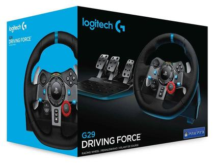 PS4 & PS3 Logitech G29 Driving Force Racing Wheel and Pedals