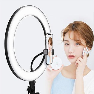 36Cm Photography Led Selfie Ring Light Dimmable - For Photography & Tiktok