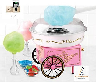 Large Electric Candy floss Machine DIY Sweet Sugar Cotton Candy Maker Floss M...