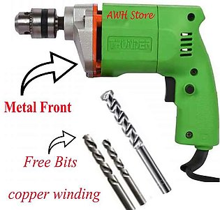 Electric Drill Machine With Metal Front With Drill Machine Bits Drill Machine W…