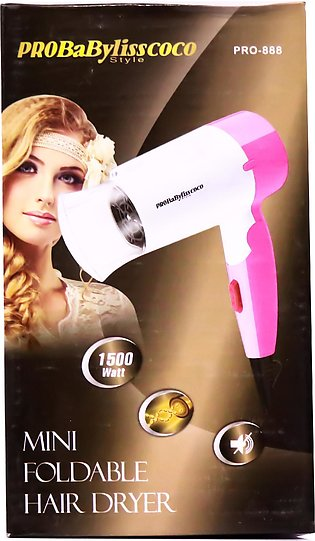 Probabylisscoco – mini foldable hair dryer – pro-888