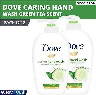 Dove Hand Wash Beauty Cream - Cucumber & Green Tea Scent- Pack of 2 | Imported