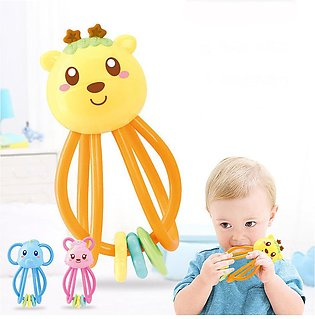 Baby Teether Toys Soft Colorfull Silicone Baby Toys Intelligence Grasping Toys