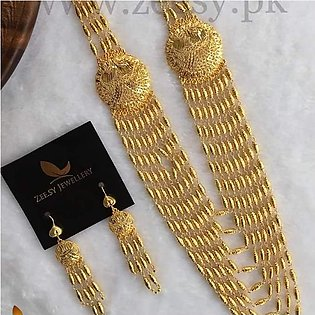 set mala style new standerd gold pleted fine quilty  Famous design new jeweller…