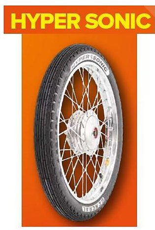 General Tyre Hyper Sonic Front Tyre and Tube for 125CC Motor Bikes