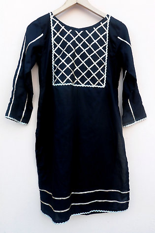 Miles of styles Summer collection Black Lawn Shalwar Kameez for women