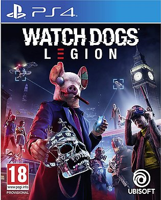 Ps4 Watch Dogs Legions Standard Edition - PlayStation 4 Games
