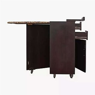 Iron Stand Folding with storage cabinet