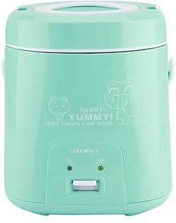 1.8L Green Mini Electric Cooker Rice Cooker for Household Use 220V Chinese Plug