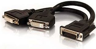 DMS-59 TO DUAL DVI-I VIDEO  DVI CABLE