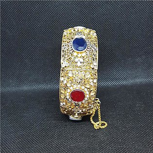 Azeem Jewellers Casual Multi Gold plated Bangle for Women 93-O