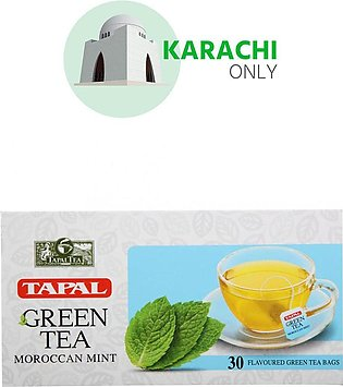 Tapal Green Tea Moroccan Mint 30 Tea Bags
