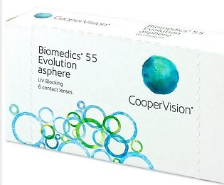 Pair Of Biomedics 55 Evolution Asphere Contact Lenses (-0.50 to -10.00 Power) w…