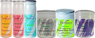Darmacos Whitening And Lightening Facial Kit Pack of 6 500ml/gm