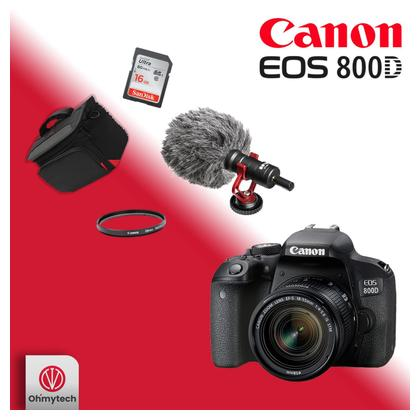 Canon 800D Kit Combo Offer