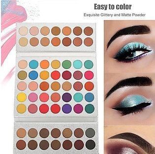 New 63 Colors Cosmetic Natural Eye Shadow Makeup Matte Eyeshadow Palette Set
