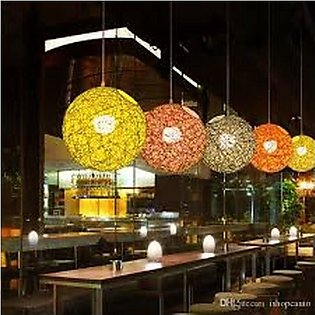 COTTON STRING LIGHT INDOOR OUTDOOR AND DECORATED LAMP BALL ITS SIZE 14 WIDTH 14…