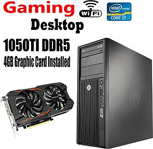 HP Desktop Z220 Tower - Intel Core i7 3770 3.2 GHz  3rd Generation Gaming PC ...