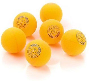 Pack of 6 - Double Circle Table Tennis Balls