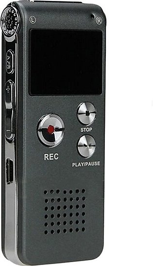 Voice Recorder 8Gb - Digital Voice Recorder Time Display Mp3 Player