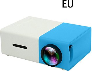 Portable Mini Projector 600 Lumens Yg300 320X240 Pixels Media Player