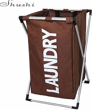 Cloth Laundry Basket With Stand