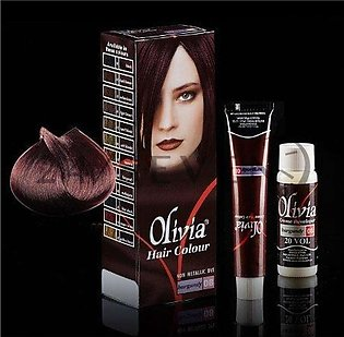 Olivia Hair Colour Burgundy 08