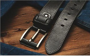 Pack of 3 Genuine Pure Leather Belt For Men Professional & casual Use