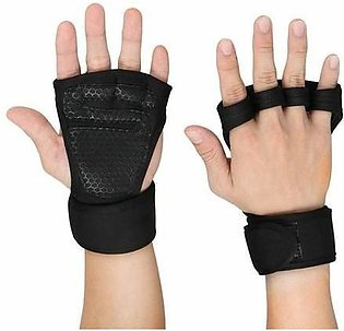 Weightlifting Gym Gloves Fitness Wrist Wraps Exercise