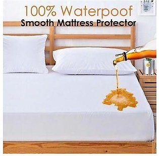 Cotton Matress Cover Solid Color Waterproof Dust-Proof Mattress Protector