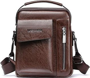 Topsky Men Shoulder Bag Messenger New Fashion Business Artificial Leather Urban Outfitters Small Cross Body Messenger