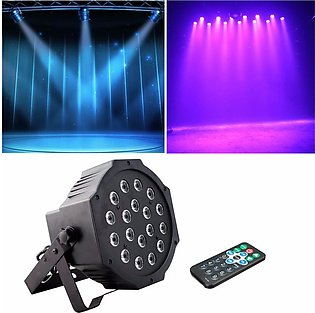 Remote Control 18 LED Stage Light for Party Disco DJ Projector